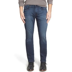 Paige 'Federal' Slim Straight Leg Jeans Vaughan 34